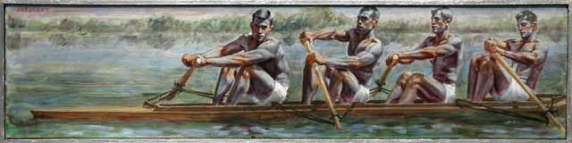 Mark Beard, '[Bruce Sargeant (1898-1938)] Four Rowers', ClampArt