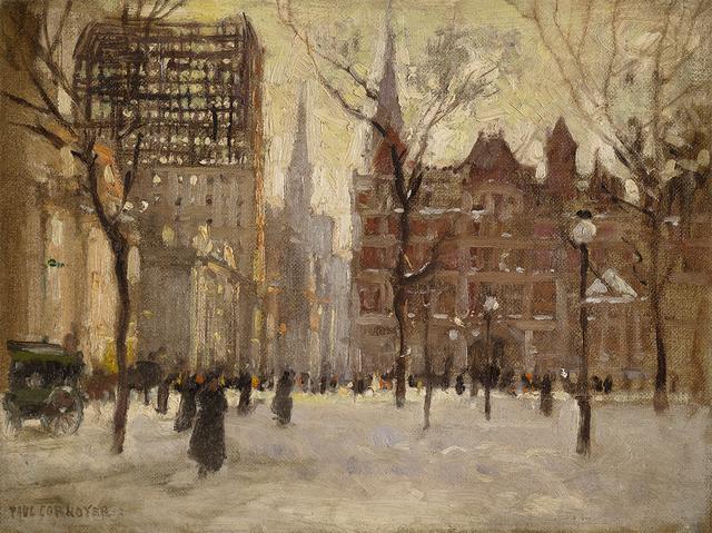 , 'Madison Square Park,' , Questroyal Fine Art