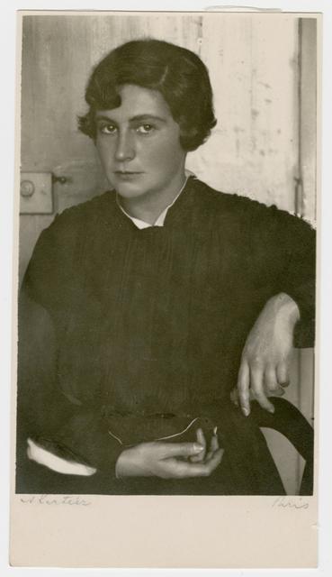 André Kertész, 'Portrait of a Young Woman', ca. 1927, James Hyman Gallery