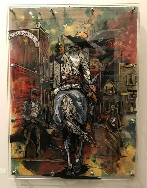Cody Kuehl, 'Riding into Town', 2018, Gallery 1505