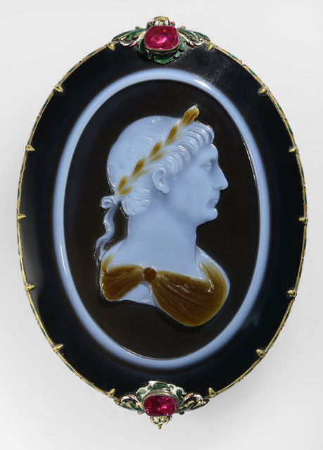 , 'Cameo of Emperor Trajan,' About 100, Legion of Honor