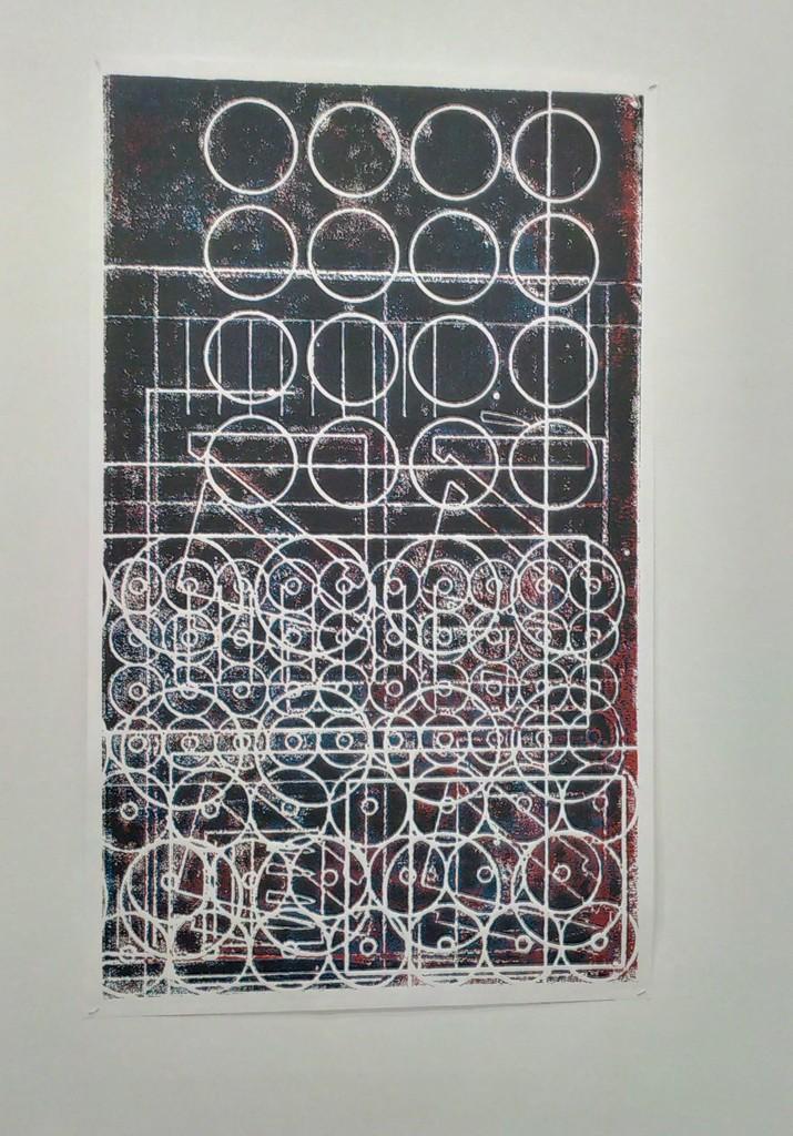 Erwin Redl, CNC Palimpsest print