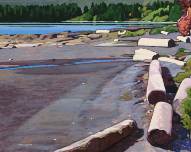 Clayton Anderson, 'Elliot Beach', Madrona Gallery