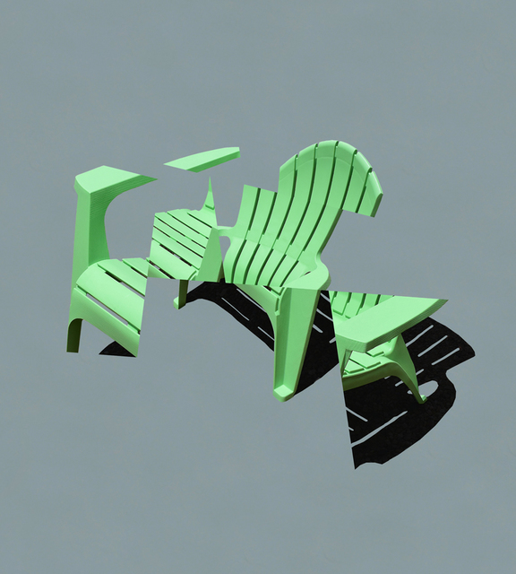 , 'Deconstructing My Adirondack Chair,' 2016, Bruno David Gallery