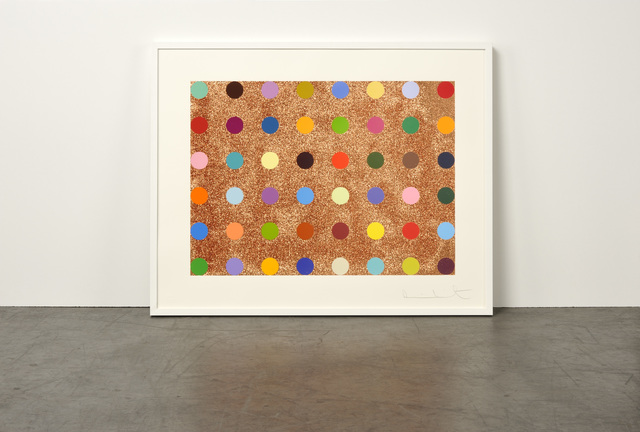 Damien Hirst, 'Proctolin (with Bronze Glitter)', 2008, Weng Contemporary