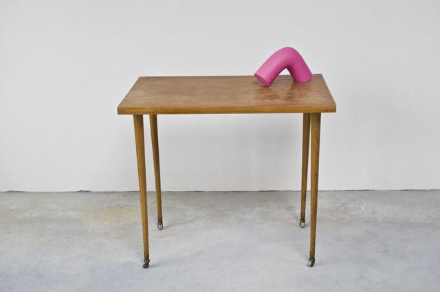, 'f. element pink I,' 2018, Nathalia Tsala Gallery