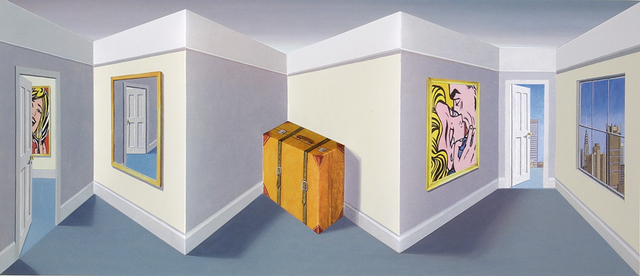 Patrick Hughes, 'Travel', 2004, Galerie Boisseree