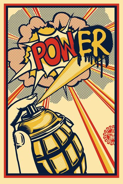 Shepard Fairey, 'Power Offset', ca. 2013, Saguaro Gallery