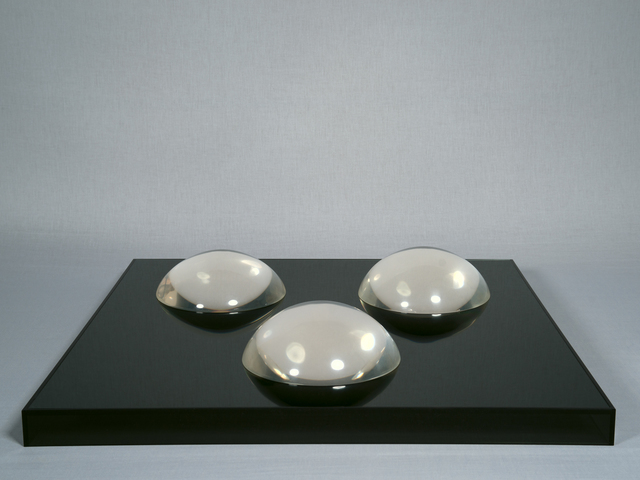 , 'Clear Domes on Dark Base,' 1968, Jessica Silverman Gallery