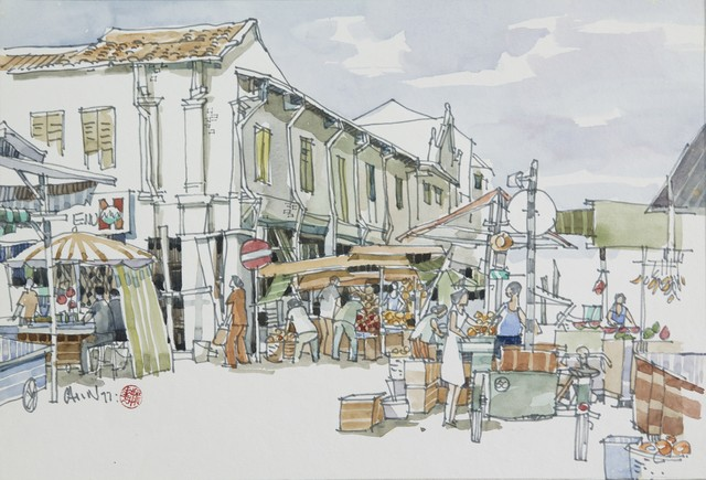 , 'Fruit Stall,' 1977, Ode to Art
