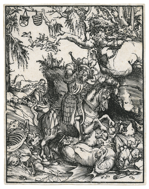, 'St. George on Horseback slaying the Dragon.,' ca. 1512, August Laube Buch & Kunstantiquariat