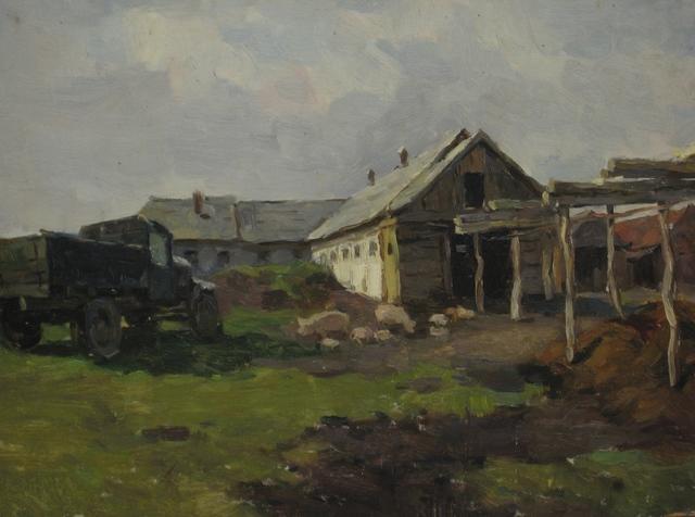 Mikhail Iiovich Batov, 'Kolkhoz. A new world', 1950, Surikov Foundation
