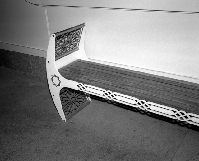 , 'Bench,' 2013, RaebervonStenglin