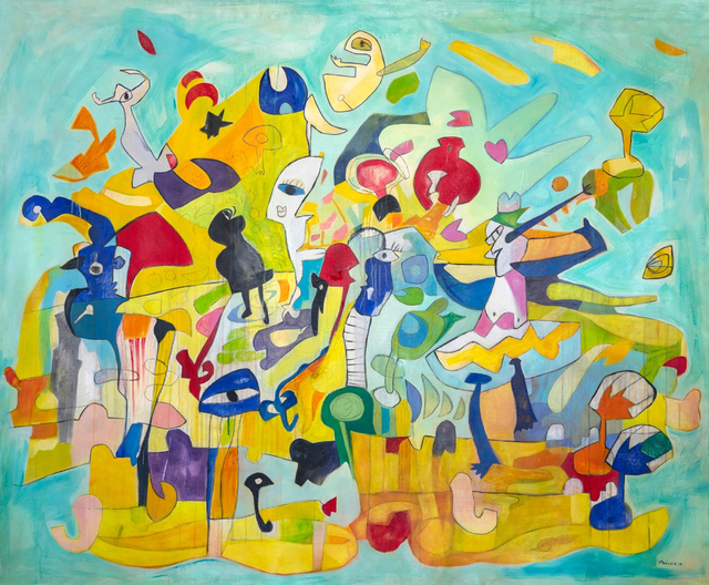 , 'Pool Party ,' 2019, Fine Art Maya