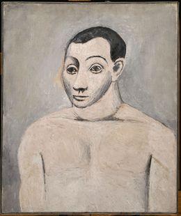 Pablo Picasso, 'Autoportrait (Self-Portrait)', 1906, Painting, Oil on canvas, Musée Picasso Paris