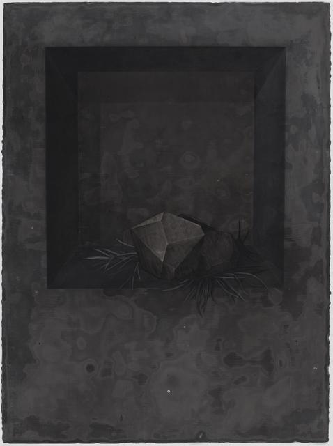, 'La mélancolie à l'infini (autant en emporte le temps): dessin#2,' 2017, Art Mûr