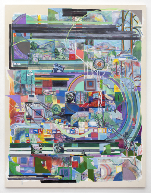 Franklin Evans, 'selfportraitascezanne', 2018, Federico Luger (FL GALLERY)
