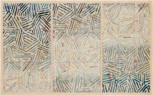 Jasper Johns, 'Usuyuki', 1981, Susan Sheehan Gallery
