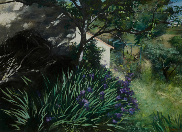 , 'Towards the Finca,' , Mall Galleries