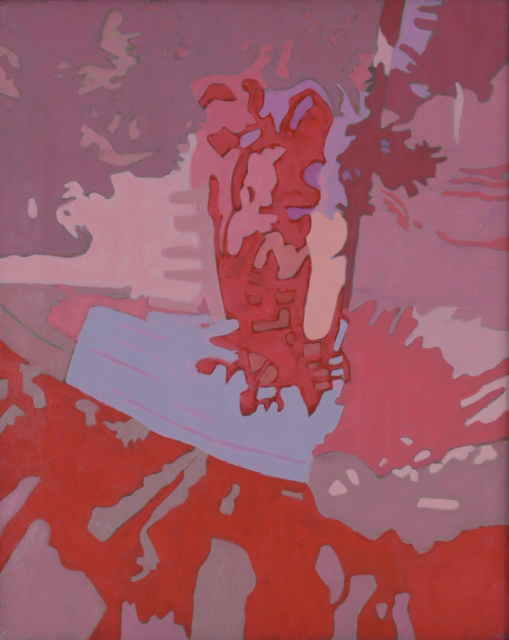 , 'In Red,' 1990, Walter Wickiser Gallery