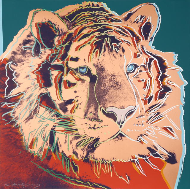 Andy Warhol, 'Siberian Tiger from Endangered Species (FS II.297)', 1983, RoGallery