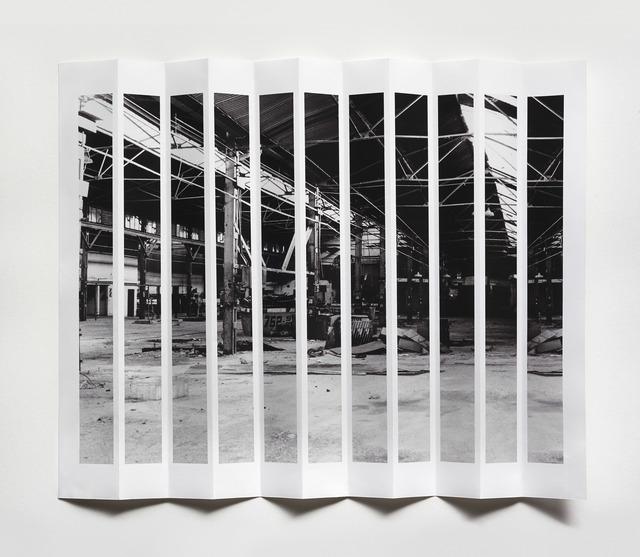 , 'Plegado de Motul | Folding Motul,' 2012, Gachi Prieto