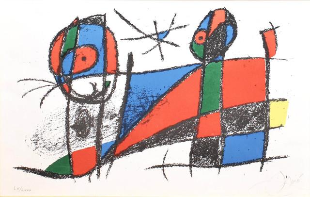 Joan Miró, 'Miro Lithographe II, Plate VII', 1975, Georgetown Frame Shoppe