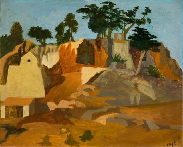 Corrado Cagli, 'Rupe Tarpea', 1934, Finarte