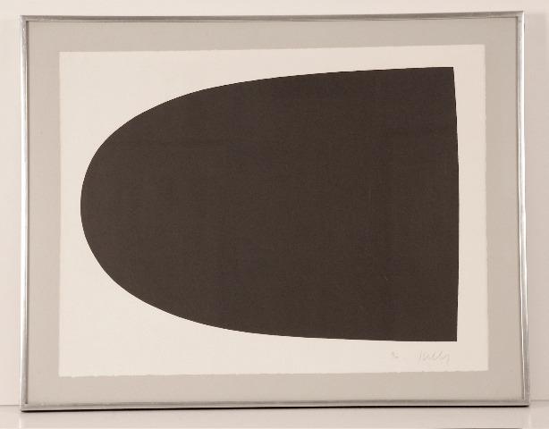 , 'Black Form (from Portfolio 9),' 1967, Sragow Gallery