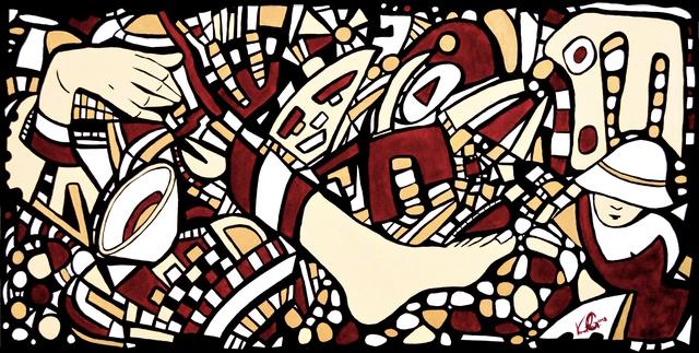 , 'Gepflasterte Steine,' 2018, Contemporary Gallery CH