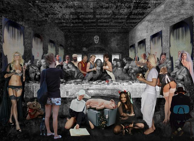 , 'Santa Cena Leonardo (The Holy),' 2009, Cynthia Corbett Gallery