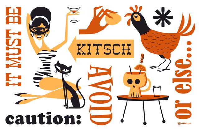 , 'Avoid Kitsch,' 2016, Jonathan LeVine Projects