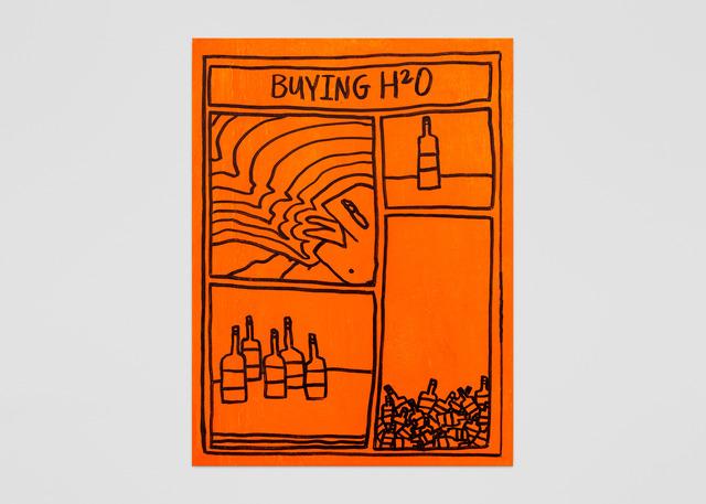 , 'Orange 8,' 2018, ABXY