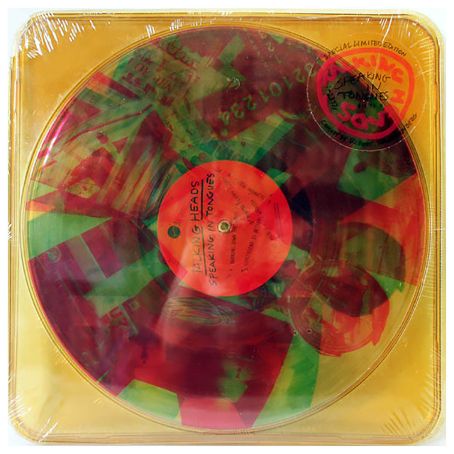 Robert Rauschenberg, 'Robert Rauschenberg Talking Heads Speaking in Tongues (sealed 1st pressing)', 1983, Lot 180