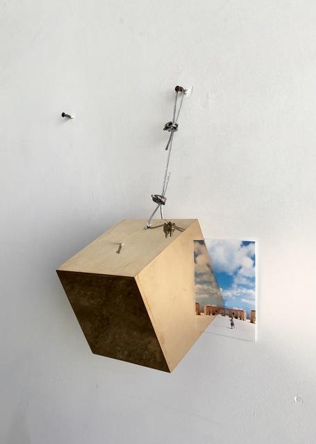 , 'Landscape with cube (Leuca),' 2016, Galleria Raffaella Cortese