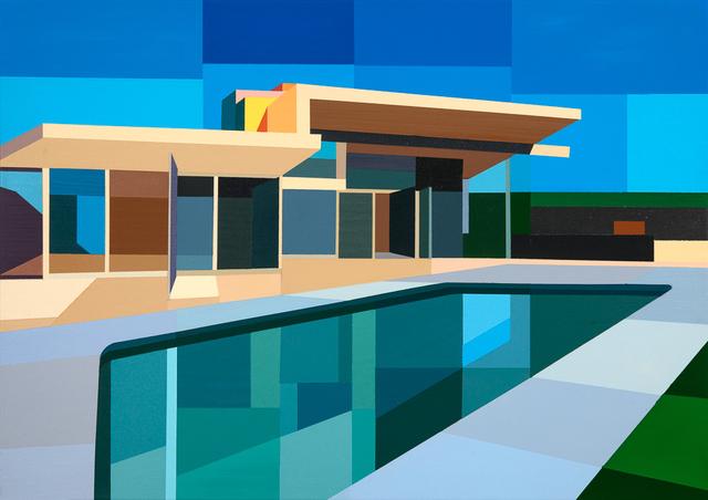 , 'Color House,' 2017, Cynthia Corbett Gallery