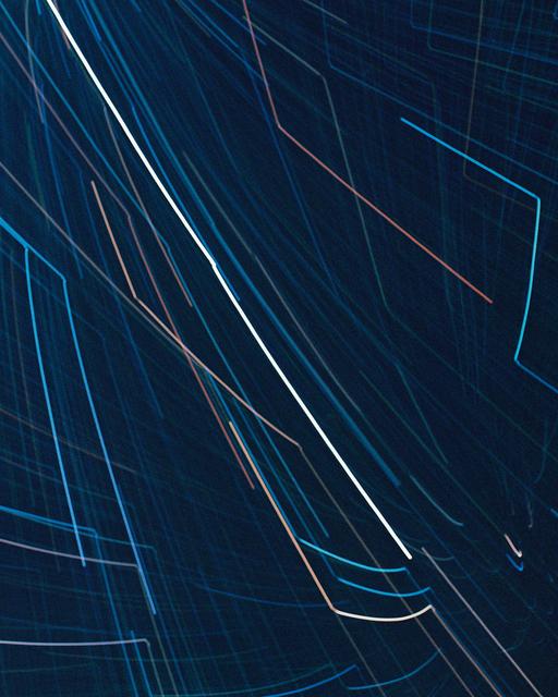 , 'Starlight Drawing (Zip),' 2017, REITER