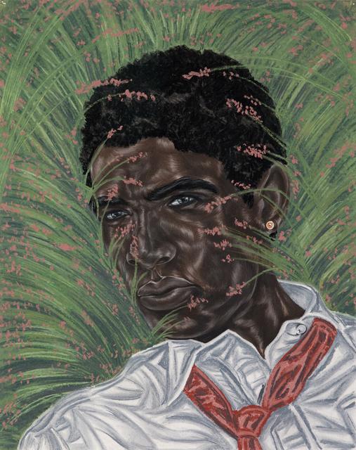 Toyin Ojih Odutola, 'Between the Margins', 2017, Jack Shainman Gallery