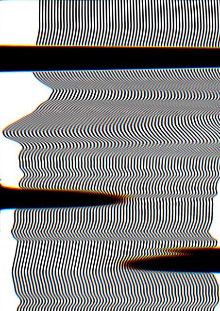 , 'scan distortion 3,' 2016, Galerie EIGEN + ART