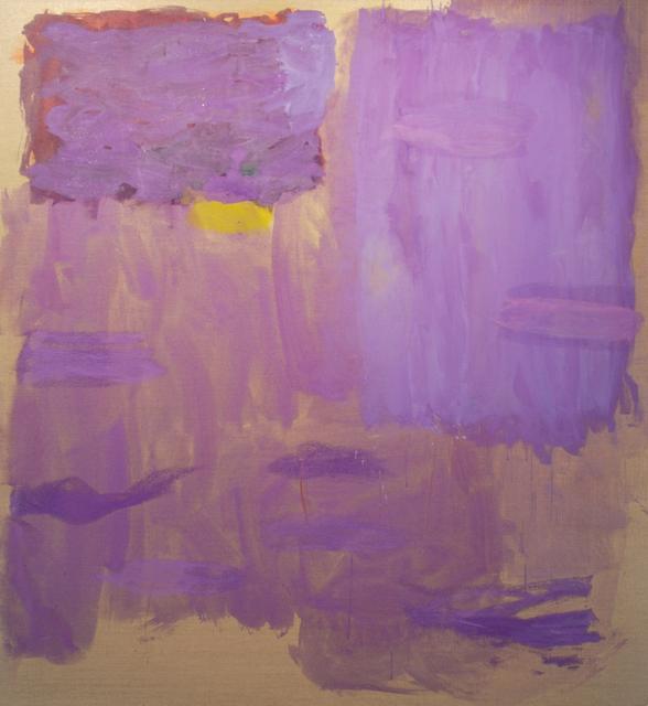 Monique Frydman, 'Violet en mauve III', 1992, Painting, Piments and liant on linen canvas, Bogena Galerie