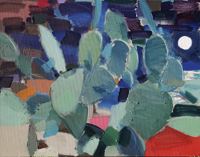 , 'Cactus two,' 2016, Zilberman Gallery