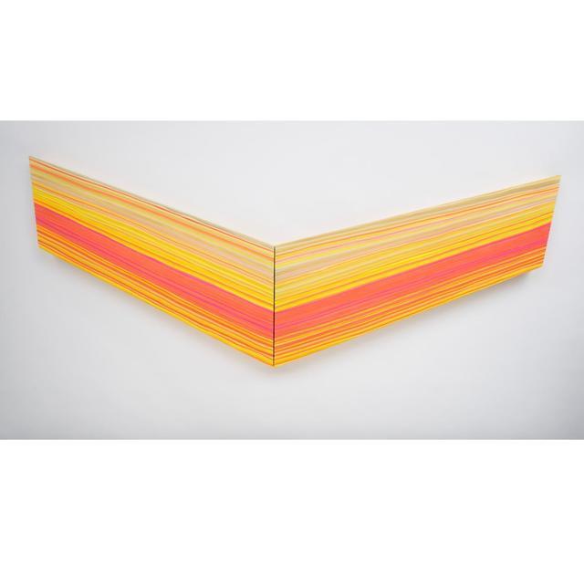 , 'Orange Takes Flight,' , Exhibit by Aberson