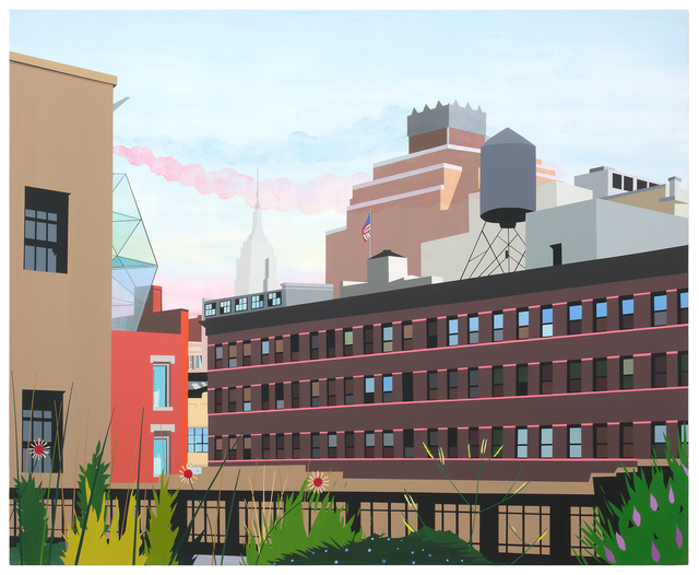 Brian Alfred, 'High Line', 2010, Miles McEnery Gallery