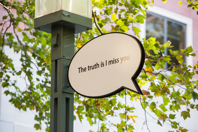 , 'The Truth Is…,' 2015, Public Art Fund