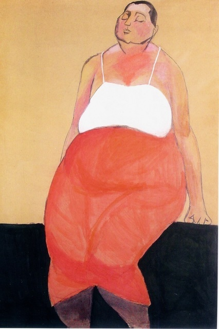 , 'Potrait of a Women,' 1955-1956, Galerie Isabella Czarnowska