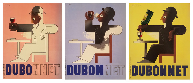 , 'DUBO DUBON DUBONNET - QUINQUINA -SOLD AS A SET OF THREE,' 1932, Omnibus Gallery