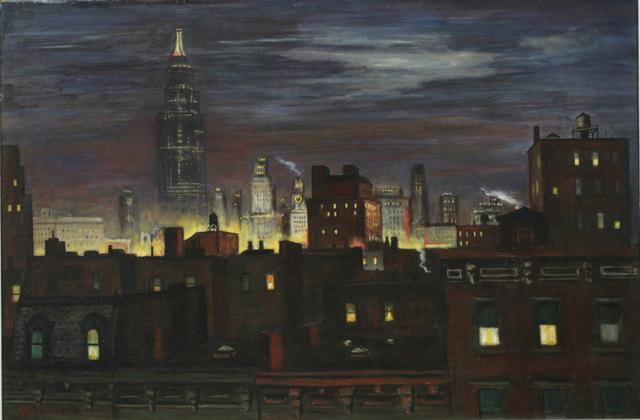 Edmund Yaghjian, 'Night in Manhattan', 1936, ACA Galleries