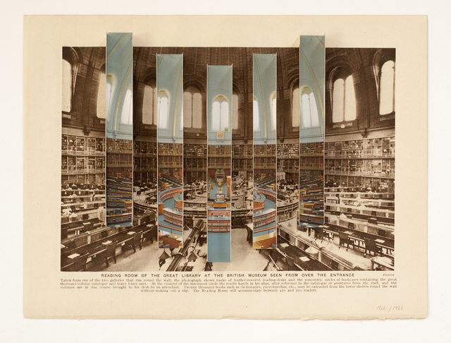 , 'The British Museum Reading Room 1926 | 1986,' 2016, Rokeby Gallery