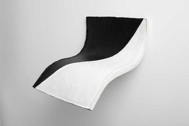 Eduardo Costa, 'Black & White transversal soft Painting', 2008, Henrique Faria Fine Art