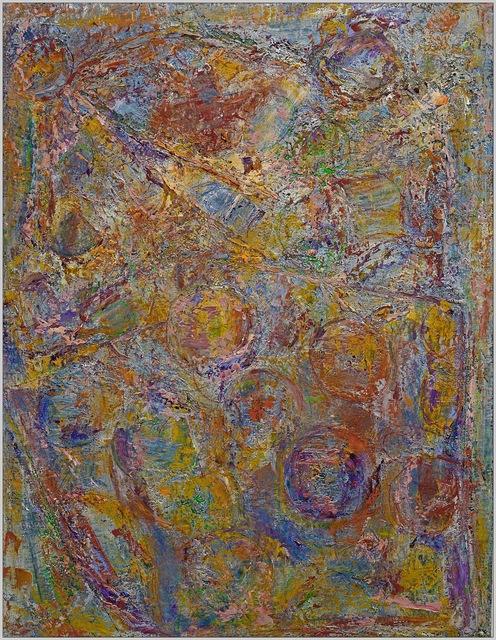 Frédéric Choisel, ' Jour de Fête 2 / Celebration Day 2', 2014, Painting, Oil on linen, metallicpigments, aluminum framed, Andra Norris Gallery